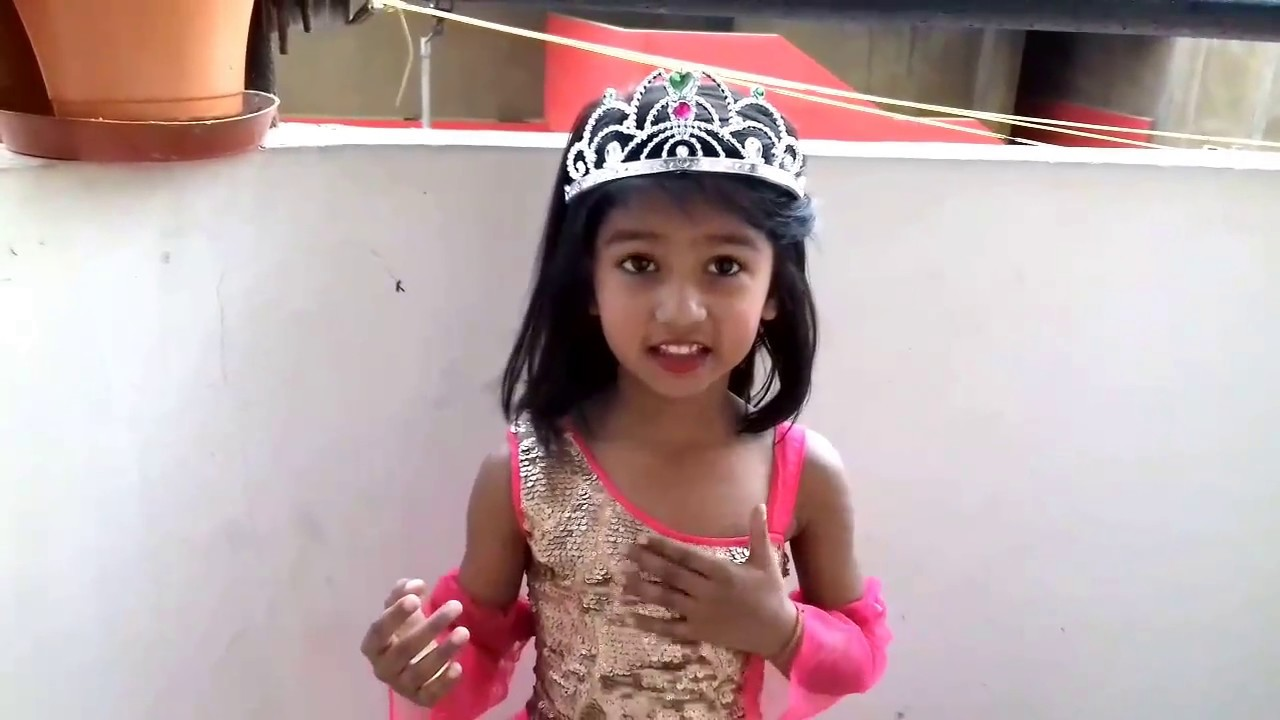 a96a88369a5 Princess Cinderella fancy dress with dialogues - YouTube