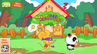 Panda Miumiu was Caught | Magician's Trip | Learn Color, Comparison | BabyBus Game