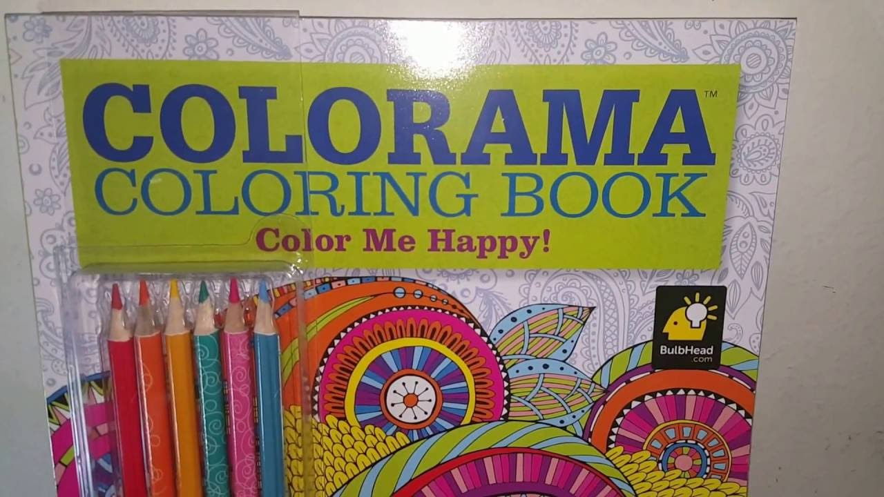 Color book for me - Colorama Coloring Book Color Me Happy Over 100 Happy Designs Book Cover A Closer Look