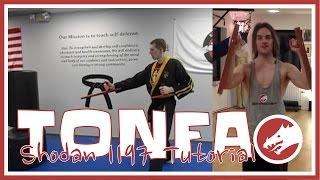 THE TONFA! Practical tutorial with Shodan 1197.
