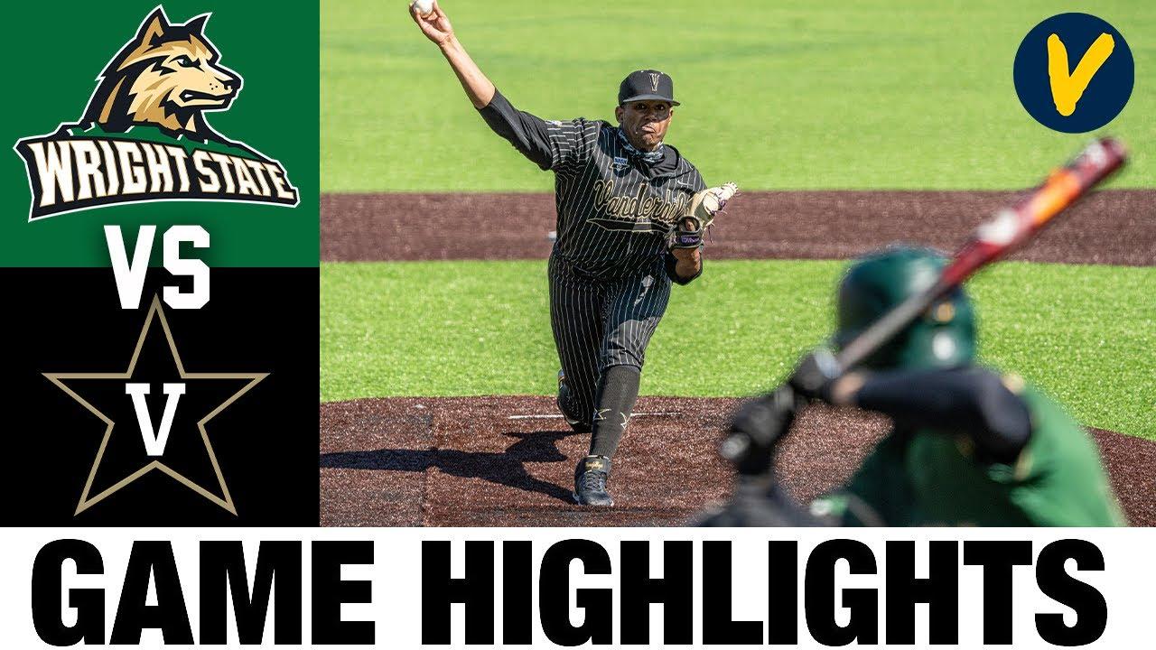 Wright State vs #3 Vanderbilt Game 1 Highlights | 2.22.2020 | 2021 College Baseball Highlights