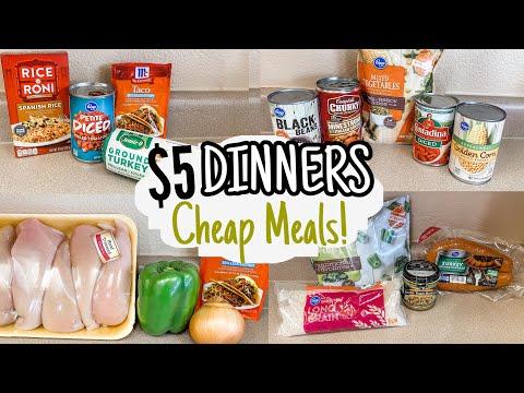 $5 DINNERS |