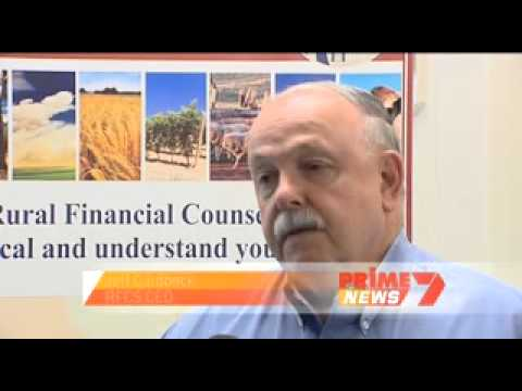 Prime 7 News Rural Financial Counselling Service for fire victims