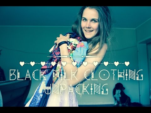 [Unpacking] BlackMilk Clothing #2 + Australian Chocolate