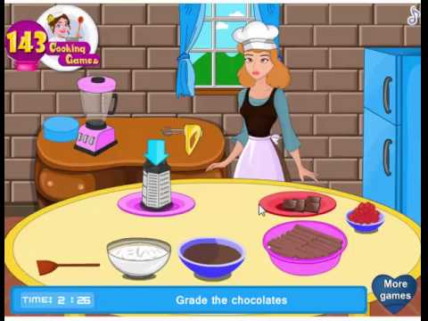 Game Lọ lem làm bánh tiramisu