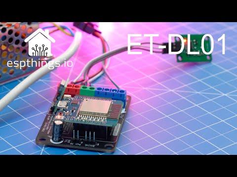 ET-DL01 - 4 channel digital addressable LED controller