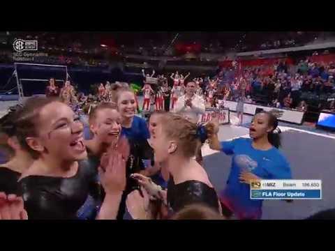 Florida Gymnastics: Alex McMurtry Perfect 10 Floor 2-24-17