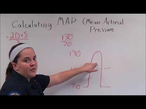 Calculating MAP (Mean Arterial Pressure)