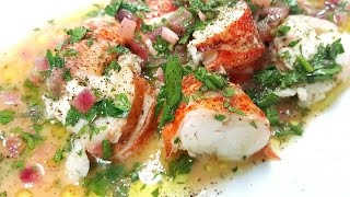 Lobster with Butter Sauce [SUB]