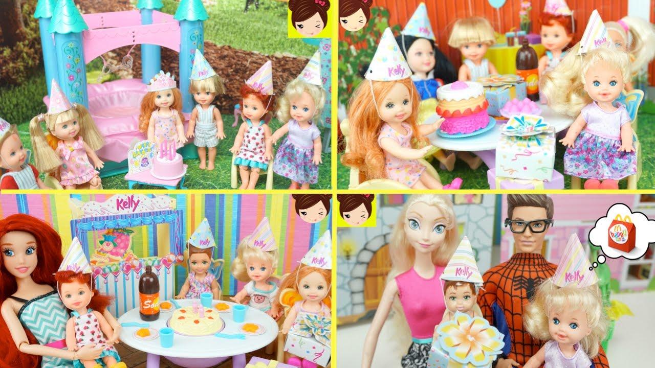 fiestas de cumpleaos de las bebes de elsa ana y ariel de fiestas infantiles youtube