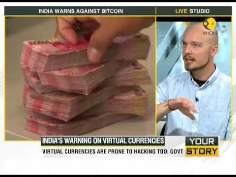 India's warning on virtual currencies