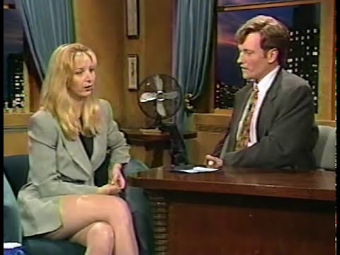 Lisa Kudrow on Conan July 3, 1995