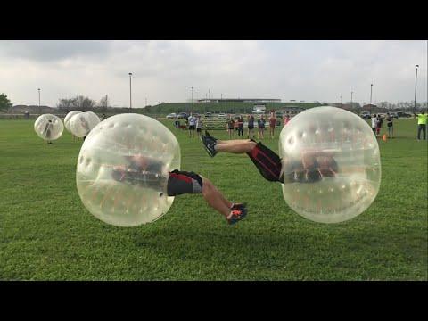 Bubble Soccer Big Hits