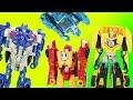 Transformers Magic Toy Box Surprise Batman changes into Optimus Prime & Ultrabee!