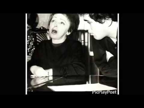 "Édith Piaf ""les Gens"", LIVE AT THE EIFFELTOWER 1963"