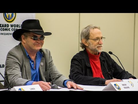 Micky Dolenz and Peter Tork During The Monkees Panel at Wizard World St Louis