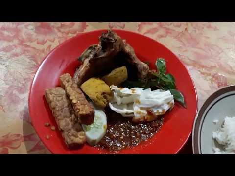 pecel-ayam-mas-agus-pamulang-tangerang-selatan,-indonesian-food,-food-street,-food-vlog-#03