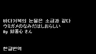 [한글번역/ Korean Translation]바다거북…