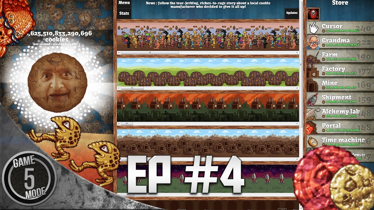 Cookie Clicker Part 4 - Cookie Clicker One Mind - YouTube