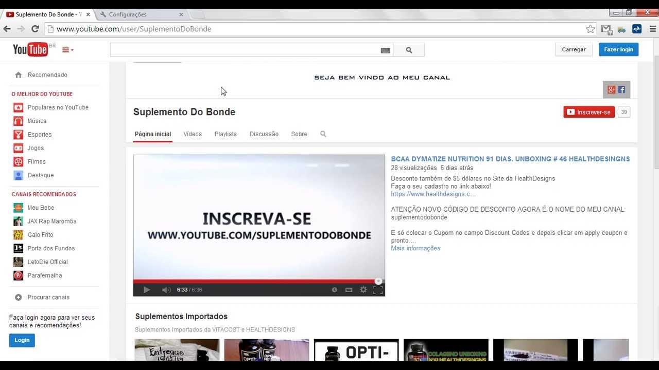 686c25a60d Como desativar o POP-UP do seu navegador Google Chrome - YouTube
