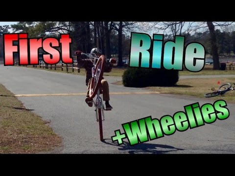 First Time Riding / Wheeling An SE BIG RIPPER