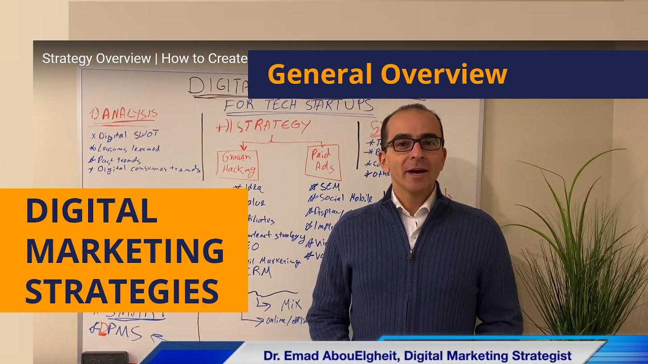 Strategy Overview | How to Create a Digital Marketing Strategy for Tech Startups?