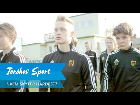 Torshov Sport presenterer: Hvem skyter hardest? Episode 1 | Bærum G16