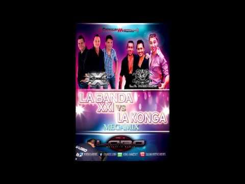 LA BANDA XXI VS LA KONGA   Dj Lobo  Potencia remix