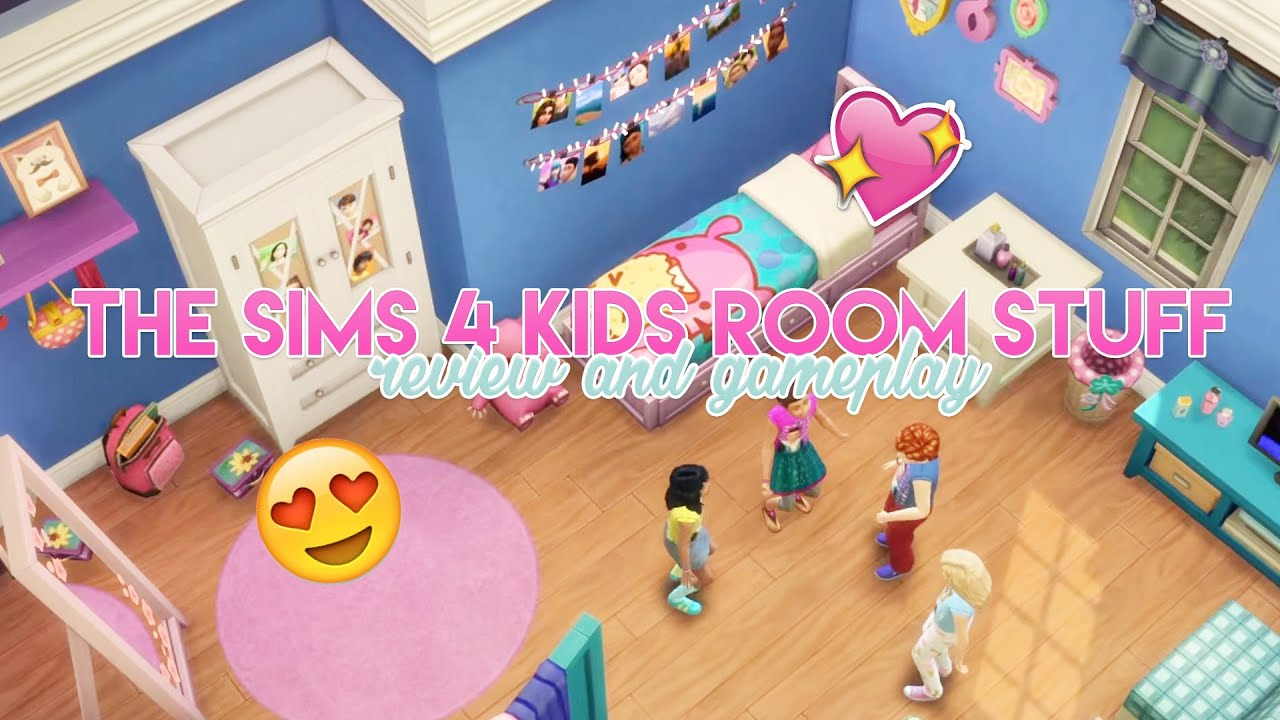 Sims  Kids Room Stuff Pack Free