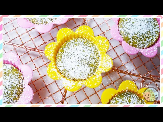 How to Make Matcha Mochi Cupcakes 🍵 Mother's Day Asian Cake Dessert Ideas