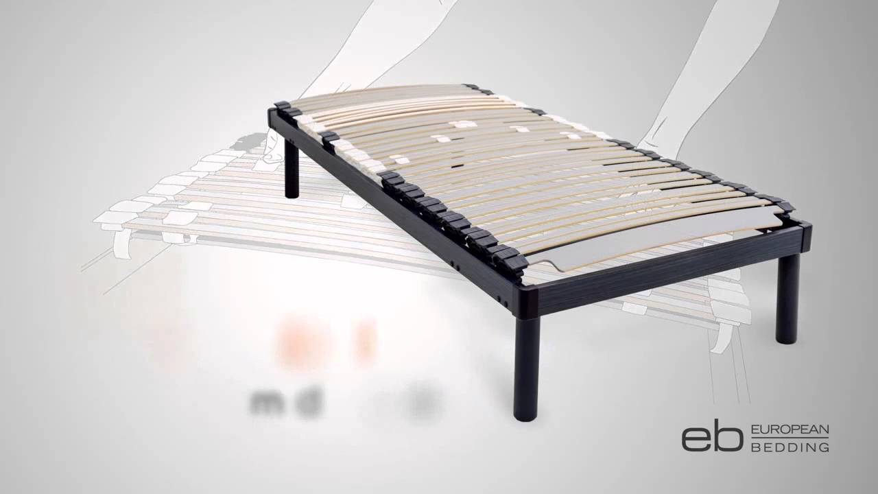 Adjustable Slatted Bed Base Provides Customised Sleeping Comfort U0026 Support    YouTube