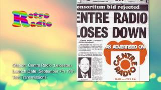 Centre Radio - Test Transmissions - September 1981