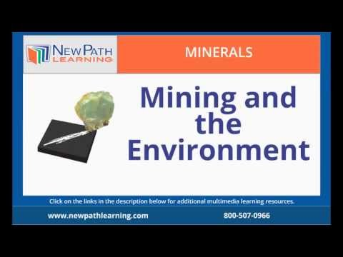 Minerals - Mining and the Environment