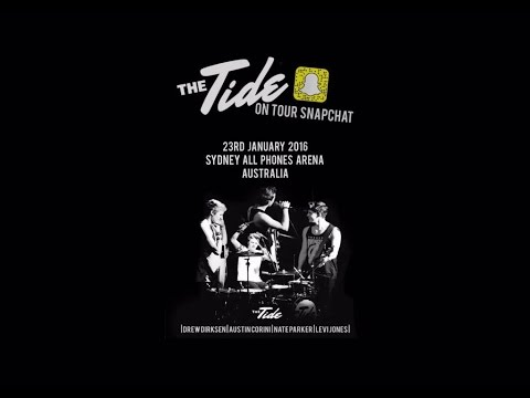 The Tide - Full Set, All Phones Arena, Sydney-  23/1/2016.