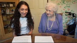 Interviewing My 100 Year Old Great Grandmother