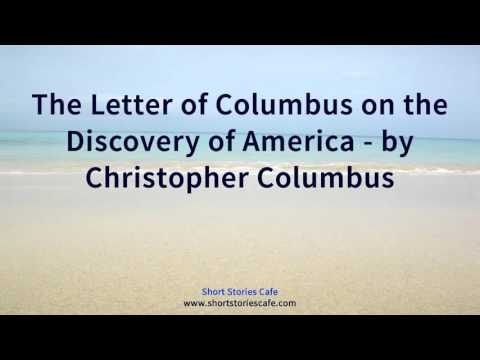 The Letter of Columbus on the Discovery of America   by Christopher Columbus