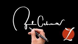 Начните с Z Лучшие примеры подписи  Как создать мой автограф?