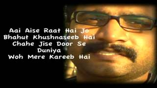 Aankhon Mein Teri Ajab Si Ajab Si Hindi Karaoke by AR