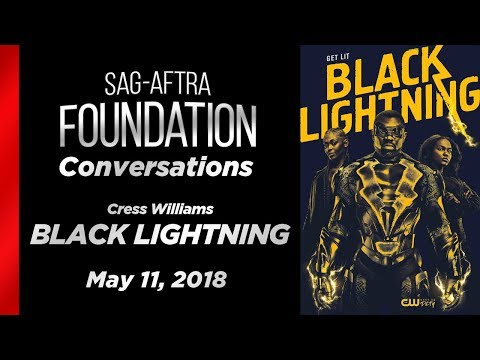 Conversations with Cress Williams of BLACK LIGHTNING