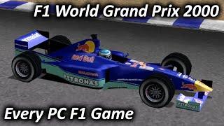 F1 World Grand Prix 2000 (2001) - Every PC F1 Game