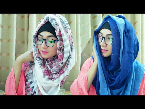 Hijab Style for Glasses with Covering chest | Pari ZaaD ❤ thumbnail