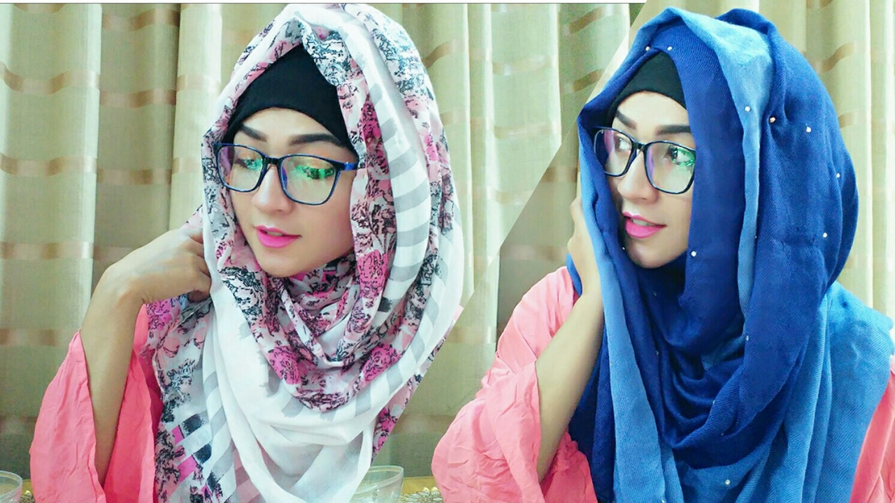 Hijab Style For Glasses With Covering Chest Pari Zaad Youtube