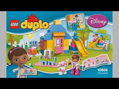 Lego Duplo 10606 Doc Mcstuffins Backyard Clinic Instruction
