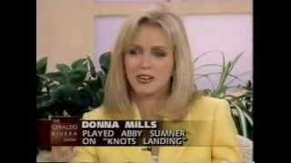 Donna Mills and Knots Landing cast on Geraldo Rivera, 1997