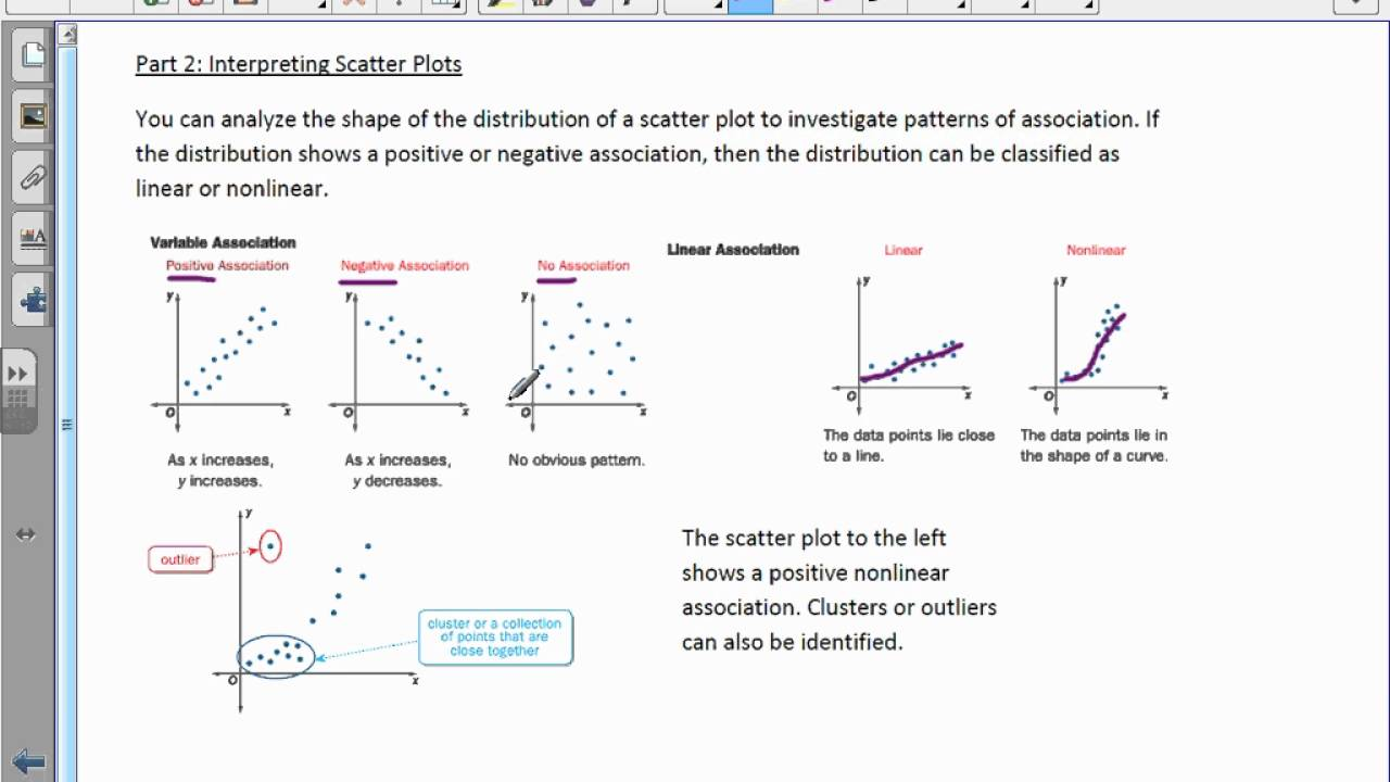 hight resolution of Course 3 chapter 9 scatter plots and data analysis lesson 5 answer key