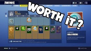 EST-CE LE BATTLE PASS WORTH IT? FORTNITE Bataille Royale