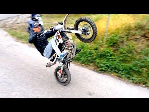 Wheeling en DIRT BIKE ? Beta R 150
