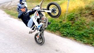 Wheeling en DIRT BIKE ? Beta R 150
