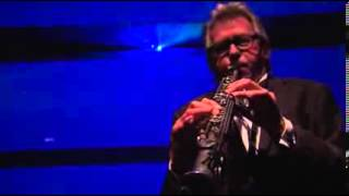 Andy Mackay playing Soprano sax .........Special Guest of Hotei at ...