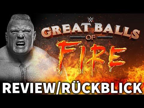 WWE GREAT BALLS OF FIRE 2017  PPV Rückblick  LESNAR VS. JOE! DeutschGerman